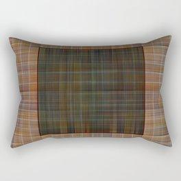 Patched plaid tiles pattern Rectangular Pillow