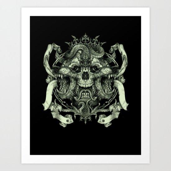 le roi Art Print