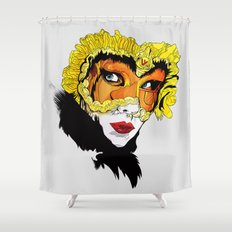 The Feast of Earl Shower Curtain