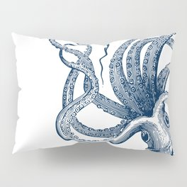 Octopus Navy Pillow Sham