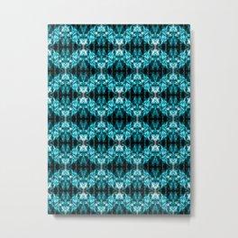 Recycled Smoke Abstract Design Metal Print