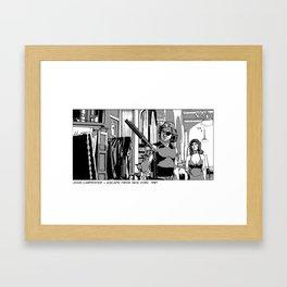 1999 Jena Plissken Framed Art Print