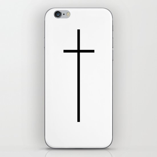 CROSSES (WHITE) iPhone & iPod Skin