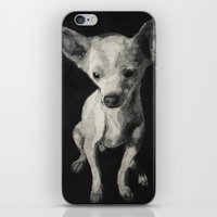 chihuahua iPhone & iPod Skins featuring Chihuahua dog  by Sara.pdf