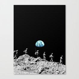 Earth Platoon Canvas Print
