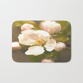 Apple Blossoms #decor #society6 Bath Mat