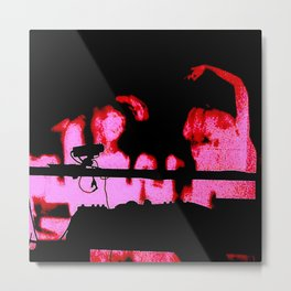 Dancing With The Devils Metal Print