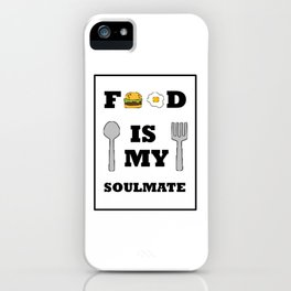 Show your endless infinite love Soulmate T-Shirt Food iPhone Case