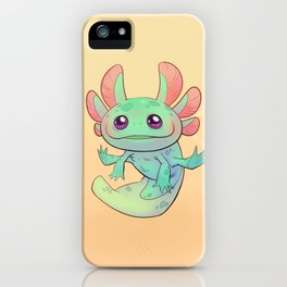Axolotl iPhone Case