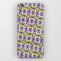 art deco iPhone & iPod Skins featuring Art Deco by Meaghan Monroe