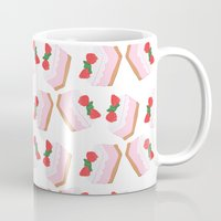 cake Mugs featuring Cake by Inbeeswax