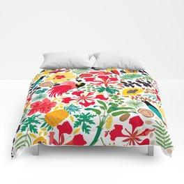 tropical botanical Comforters