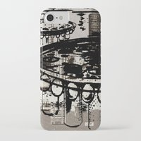 architect iPhone & iPod Cases featuring Architect Invader by Paul Prinzip