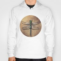 dragonfly Hoodies featuring Dragonfly  by Werk of Art