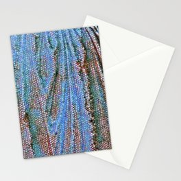 Caryatid in Blue Two Stationery Cards