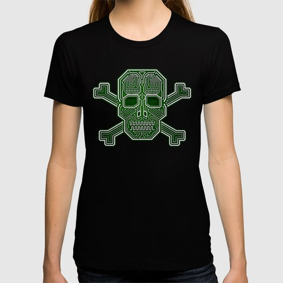 Hacker Skull Crossbones (isolated version) by hacktees