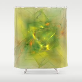 Folds In Paradise Shower Curtain