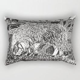 Dartmoor sheep Rectangular Pillow