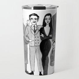 The Addams Family Travel Mug