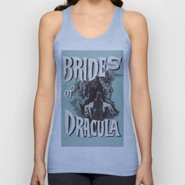 Brides of Dracula, vintage horror movie poster Unisex Tank Top