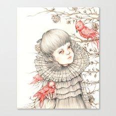 Little black dress Canvas Print