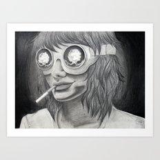 Self Destruct Art Print