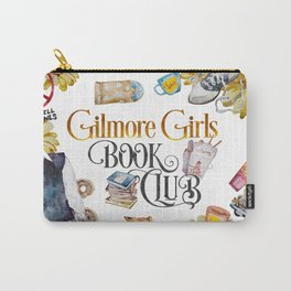 GG Book Club WhiteBG Carry-All Pouch
