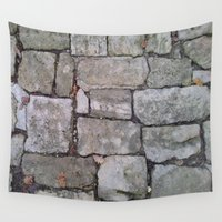 medieval Wall Tapestries featuring MEDIEVAL FLOOR by Melania Emma