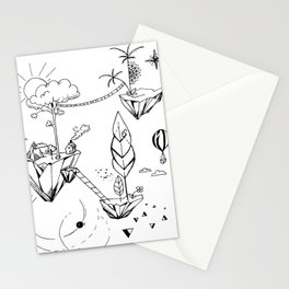 Summer adventures Stationery Cards