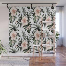 Hibiscus Wall Mural