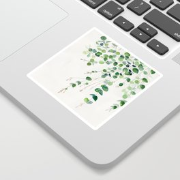 Eucalyptus Watercolor Sticker
