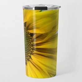 Yellow Sunflower Travel Mug