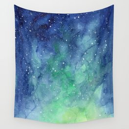 Northern Lights Sky Galaxy Wall Tapestry