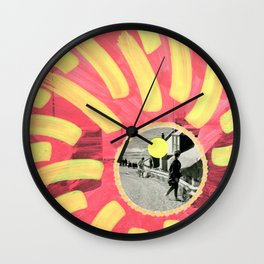 Checking Out Wall Clock