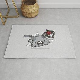 Dust Bunny Hate Clean! Rug