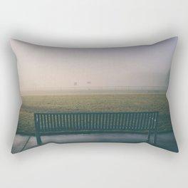 benched Rectangular Pillow
