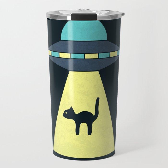 We Just Want The Cat Travel Mug