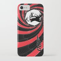 james bond iPhone & iPod Cases featuring James Bond Casino Royale by Kozmanaut