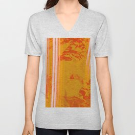 Orange Light Unisex V-Neck