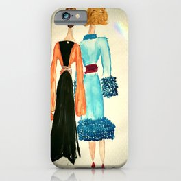 Lucinda and Florinda iPhone Case