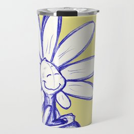 """Warm Food Means Someone Loves You"" Flowerkid Travel Mug"