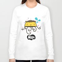 musa Long Sleeve T-shirts featuring Lusa Musa© of MILK FACTORY ® by Mimi Guarnero