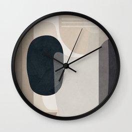 Abstract Geometric Art 52 Wall Clock