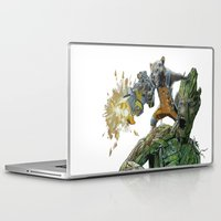 guardians Laptop & iPad Skins featuring Guardians by theMAINsketch