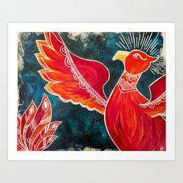 May the Phoenix Rise Art Print