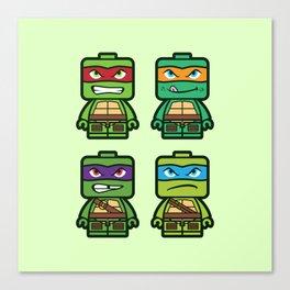 Chibi Ninja Turtles Canvas Print