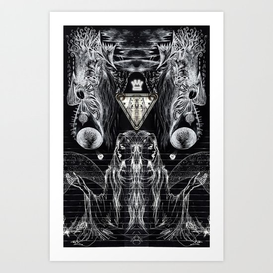 Dark Night Of The Soul Art Print