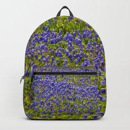 Texas Bluebonnets - Fredericksburg Backpack