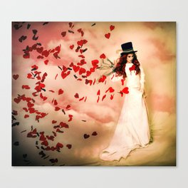 Love Bleed Canvas Print