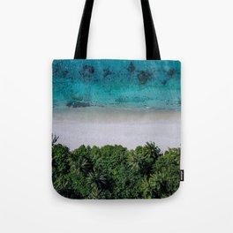 Maldivian island Tote Bag